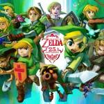 Comerciales de La Legenda de Zelda durante los últimos 25 años