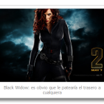 La viuda negra (Black Widow) vs el mundo