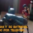Batman y su batimóvil pedido por teléfono…