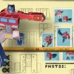 Arma a tu propio Optimus Prime de papel, completamente transformable