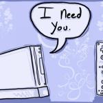 Tarjetas Nintenderas para el día del Amor y la Amistad (alias: San valentín)