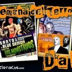 Semana del Terror de Ultramancito Dia 3: Santo y Blue Demon Vs. Los Monstruos