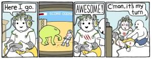 Serán así los videojuegos del futuro?