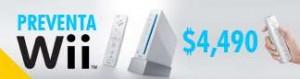 Preventa de Wii de Nintendo en México!