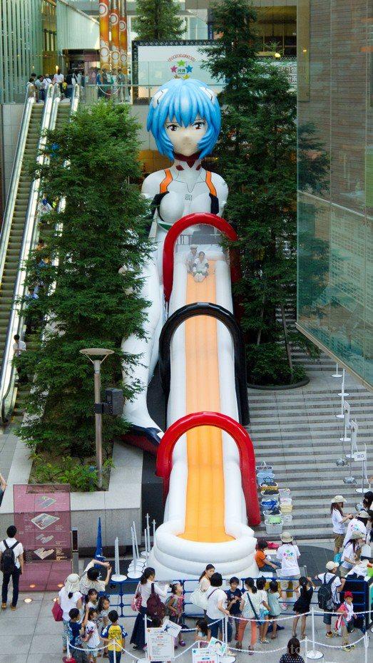 Rei Ayanami gigante
